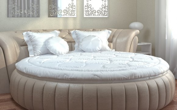 Одеяло на круглую кровать