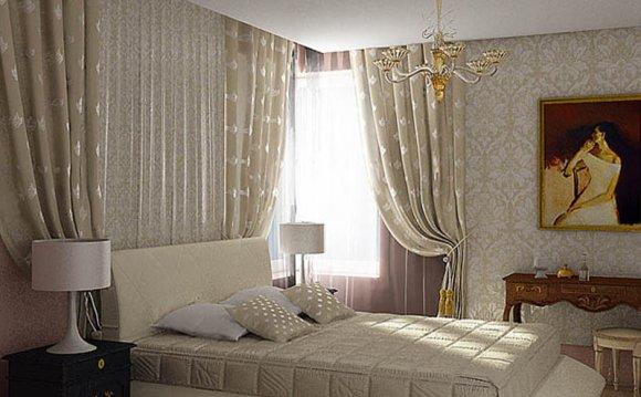 шторы и покрывало в спальню фото выбираем постельное белье